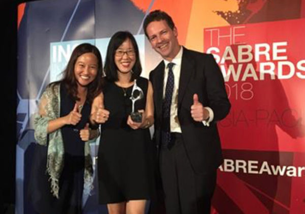 Klareco Communications wins at Asia-Pacific SABRE Awards 2018
